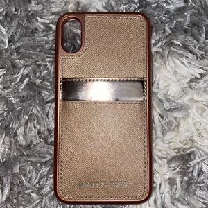 Michael Kors pocket case for iPhone X
